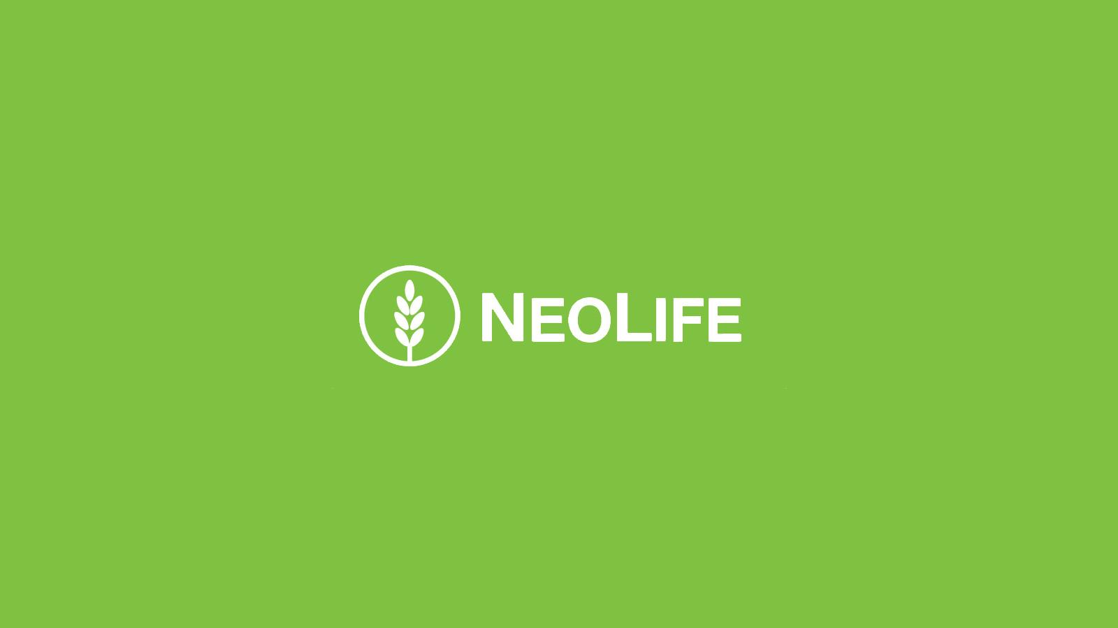 NeoLife Logo on Background